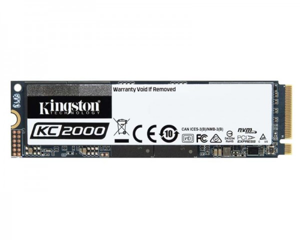 KINGSTON 250GB M.2 NVMe SKC2000M8/250G SSDNow KC2000 series